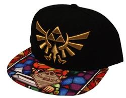 LEGEND OF ZELDA, THE -  TRIFORCE ADJUSTABLE CAP - BLACK/MULTY COLOR