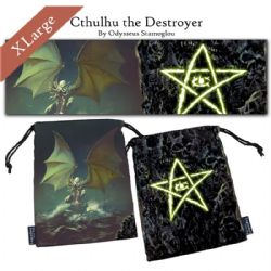LEGENDARY DICE BAGS -  CTHULHU THE DESTROYER XL