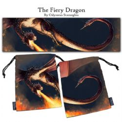 LEGENDARY DICE BAGS -  THE FIERY DRAGON