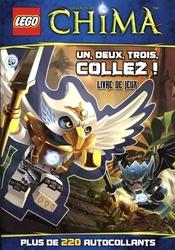 LEGENDS OF CHIMA -  UN, DEUX, TROIS COLLEZ ! - 220 AUTOCOLLANTS