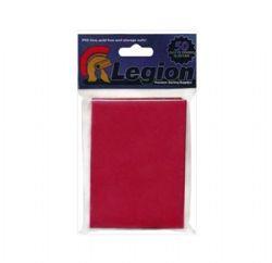 LEGION RED -  LEGENDARY 50 CARD SLEEVES