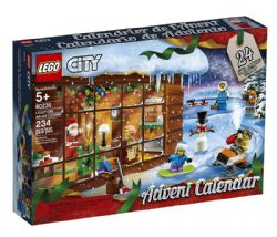 LEGO CITY -  ADVENT CALENDAR (234 PIECES) 60203