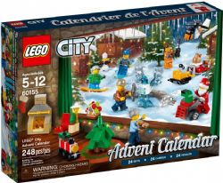 LEGO CITY -  ADVENT CALENDAR (313 PIECES) 60201