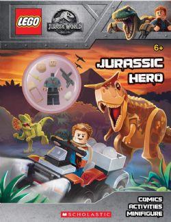 LEGO -  JURASSIC HERO: ACTIVITY BOOK WITH MINIFIGURE -  LEGO JURASSIC WORLD