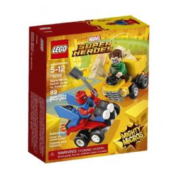 LEGO -  MIGHTY MICROS: SCARLET SPIDER VS. SANDMAN 76089