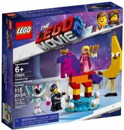 LEGO MOVIE 2, THE -  INTRODUCING QUEEN WATEVRA WA'NABI (115 PIECES) -  THE LEGO MOVIE 2 70824