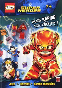 LEGO -  PLUS RAPIDE QUE L'ÉCLAIR ! -  LEGO DC SUPER HEROES