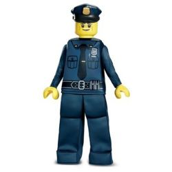 LEGO -  POLICE OFFICER PRESTIGE COSTUME (CHILD - MEDIUM 7-8)