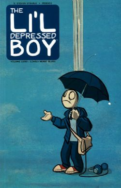 LI'L DEPRESSED BOY, THE -  USED BOOK - LONELY HEART BLUES TP (ENGLISH)