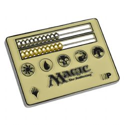 LIFE COUNTER -  ABACUS - MTG - WHITE (2.5 X 3 INCH)