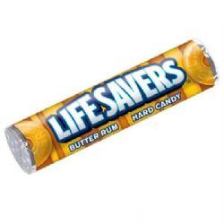 LIFESAVERS -  BUTTER RUM