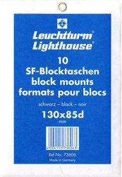 LIGHTHOUSE -  BLACK BLOCK MOUNTS 130X85D (PACK OF 10)