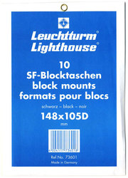 LIGHTHOUSE -  BLACK BLOCK MOUNTS 148X105D (PACK OF 10)