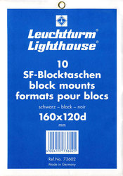 LIGHTHOUSE -  BLACK BLOCK MOUNTS 160X120D (PACK OF 10)