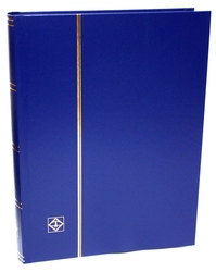 LIGHTHOUSE -  BLUE 32-SHEET STOCKBOOK (64 BLACK PAGES)