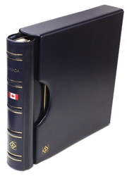 LIGHTHOUSE CANADA -  EMPTY BLUE BINDER AND SLIPCASE