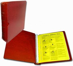 LIGHTHOUSE CANADA -  EMPTY RED BINDER AND SLIPCASE