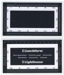 LIGHTHOUSE -  STAMPS PERFORATION GAUGE
