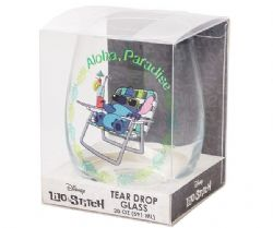 LILO AND STITCH -  LILO & STITCH STEMLESS GLASS – ALOHA PARADISE 20 OZ