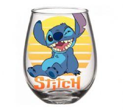 LILO AND STITCH -  LILO & STITCH STEMLESS GLASS – STITCH SUNSET 20 OZ