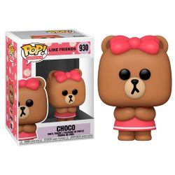 LINE FRIENDS -  POP! VINYL FIGURE OF CHOCO (4 INCH) 930