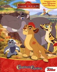 LION KING, THE -  COMPTINES ET FIGURINES -  LION GUARD, THE