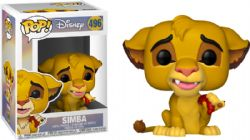 LION KING, THE -  POP! VINYL FIGURE OF SIMBA (WITH GRUB) (4 INCH) 496