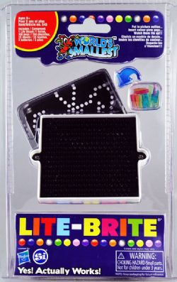 LITE-BRITE -  WORLD'S SMALLEST LITE-BRITE