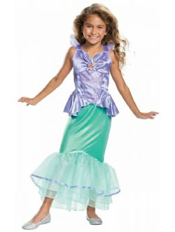 LITTLE MERMAID, THE -  ARIEL CLASSIC COSTUME (CHILD) -  DISNEY'S PRINCESSES