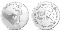 LITTLE PRINCE, THE -  THE STARS ARE GUIDES -  2015 FRANCE COINS