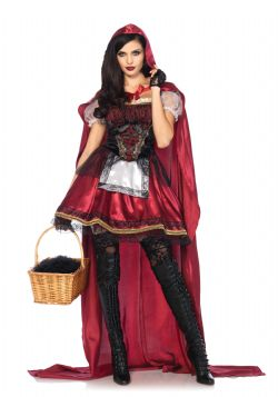 LITTLE RED RIDING HOOD -  CAPTIVATING MISS RED (ADULT)