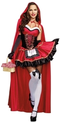 LITTLE RED RIDING HOOD -  LITTLE RED COSTUME
