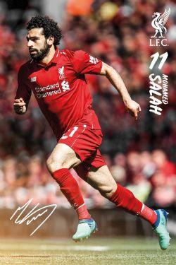 LIVERPOOL FC -  MOHAMED SALAH #11 POSTER (24