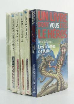 LIVRE DONT VOUS ÊTES LE HÉROS, UN -  PAQUET VARIÉ DE 6 TOMES USAGÉS