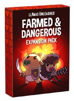 LLAMAS UNLEASHED -  FARMED AND DANGEROUS (ENGLISH)
