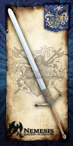 LONGSWORDS -  CLAYMORE / BRONZE / LACQUERED WOOD HANDLE (60