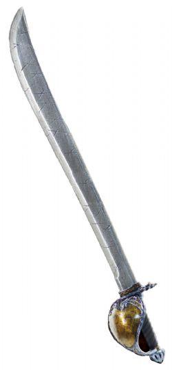 LONGSWORDS -  CORSAIR SABER / NOTCHED / TARNISHED STEEL / RIGHT HAND (40