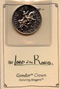 LORD OF THE RINGS -  GONDOR CROWN FEATURING ARAGORN