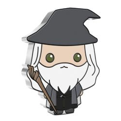 LORD OF THE RINGS, THE -  CHIBI™ COINS COLLECTION - THE LORD OF THE RINGS™ SERIES: GANDALF THE GREY -  2021 NEW ZEALAND MINT COINS 03