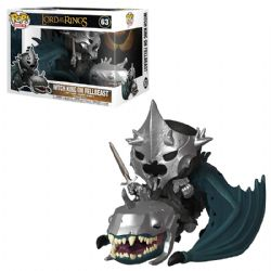 LORD OF THE RINGS, THE -  POP! VINYL FIGURE OF WITCH KING ON FELL BEAST (7 INCH) 63