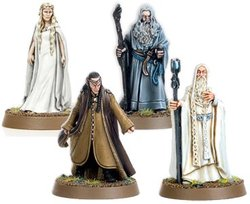 LORD OF THE RINGS, THE -  THE WHITE CONCIL -  THE HOBBIT - AN UNEXPECTED JOURNEY