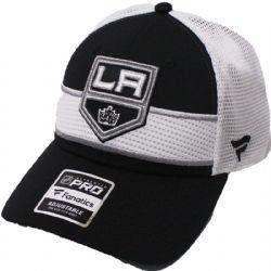 LOS ANGELES KINGS -  CAP - WHITE/BLACK - ADJUSTABLE