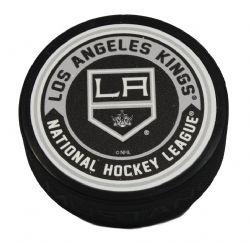LOS ANGELES KINGS -  TEXTURED ACRYLIC HOCKEY PUCK