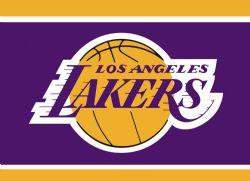 LOS ANGELES LAKERS -  3' X 5' HORIZONTAL FLAG