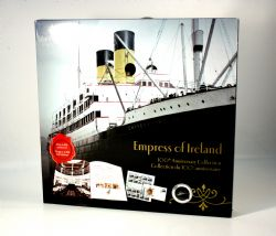 LOST SHIPS IN CANADIAN WATERS -  EMPRESS OF IRELAND COLLECTOR'S SET -  2014 CANADIAN COINS
