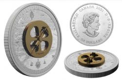 LOST THEN FOUND: CHAMPLAIN AND THE ASTROLABE -  2021 CANADIAN COINS