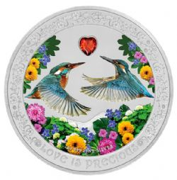 LOVE IS PRECIOUS -  KINGFISHERS -  2018 NEW ZEALAND MINT COINS 05