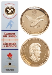 LUCKY LOONIE -  LUCKY LOONIE BOOKMARK -  2006 CANADIAN COINS