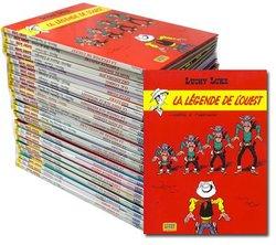 LUCKY LUKE -  COLLECTION 41 ALBUMS (ÉDITIONS LUCKY COMICS)