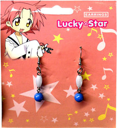 LUCKY STAR -  HIRAGI'S BIRTHDAY EARRINGS